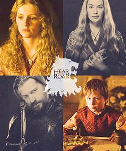 Myrcella, Cersei, Jaime & Tommen - Game of Thrones Fan Art ...