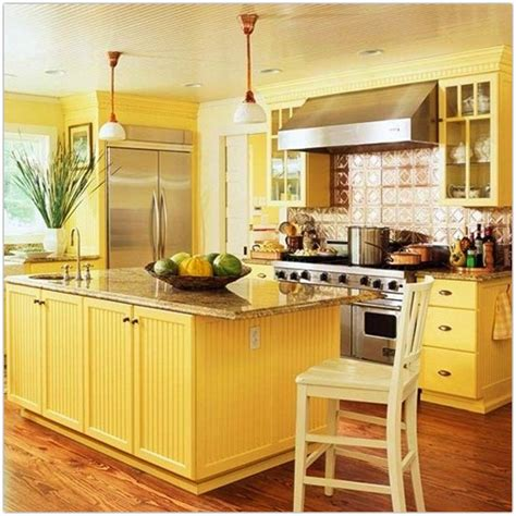 yellow kitchen colors best tips for retro kitchens colors kitchen decorating 1215
