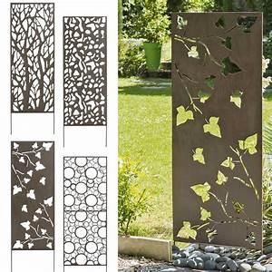 Panneau Décoratif Extérieur : panneau occultant cloture metal accueil design et mobilier ~ Premium-room.com Idées de Décoration