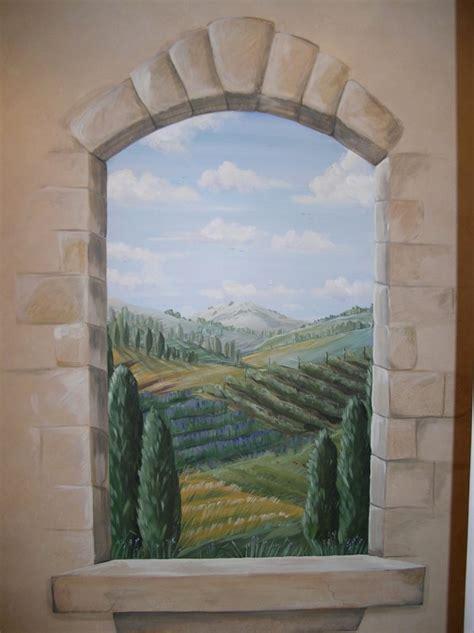 Murals And Faux Finishes  Meme Hill Studio Interior