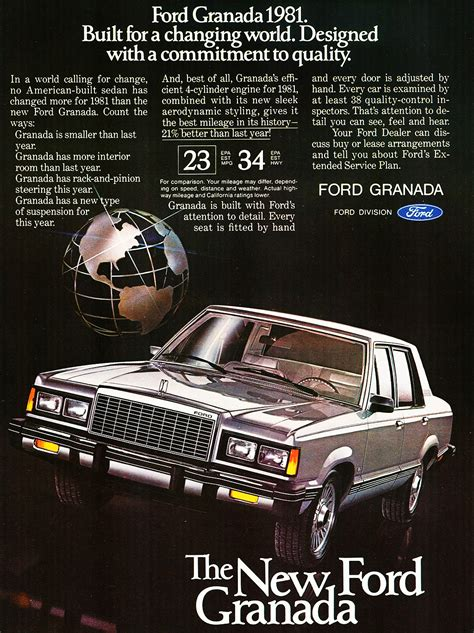 1981 Ford Granada ad | CLASSIC CARS TODAY ONLINE