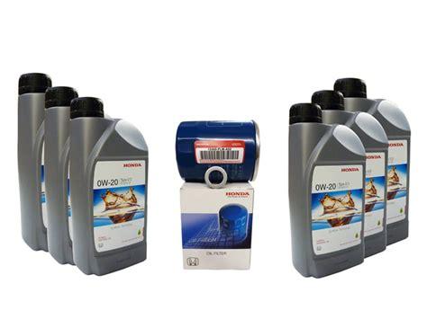 Honda Civic Motor Oil Type