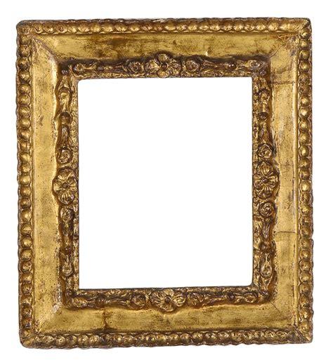 arte e cornici cornice in cartapesta dorata xviii secolo cornici