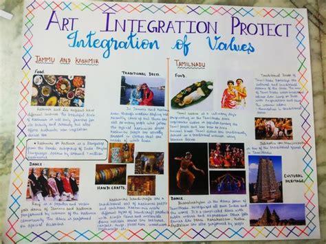 art integrated project integration  values  jammu  kashmir  tamilnadu