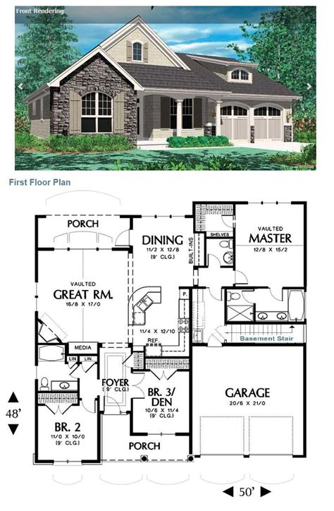 Floor plans finished basements,floor plans walkout basements,home floor plans with basements,house plans with basement,ranch floor plans basements, with resolution 1397px x 1080px. Small Rambler House Plans 2021 - hotelsrem.com