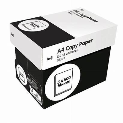 A4 Paper Copy Carton 80gsm Keji Sheets