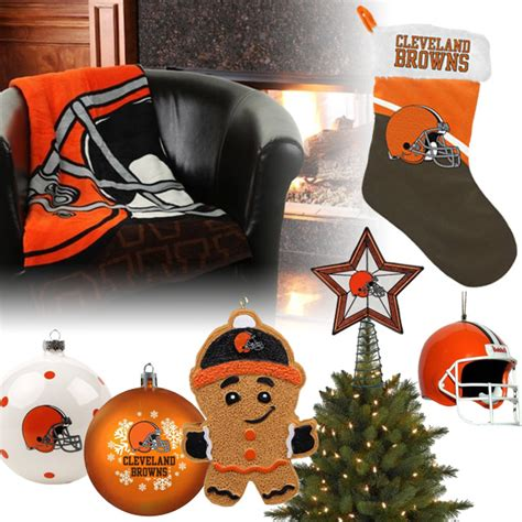 cleveland browns christmas ornaments cleveland browns
