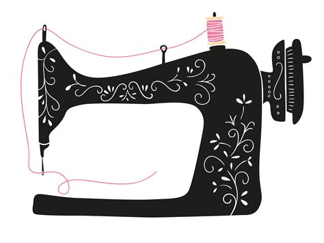 Sewing Clip Sewing Machine Clipart Transparent Pencil And In Color