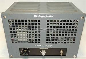 Amplifier 1140a 140a Ampl  Mixer Western Electric Company Inc