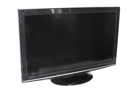 stock photo  flat panel television set