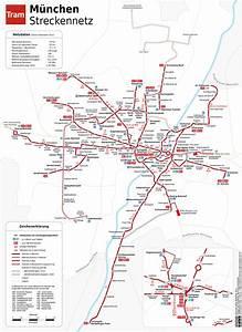 Mvv München Plan : tram stra enbahn m nchen plan netzplan liniennetz infos ~ Buech-reservation.com Haus und Dekorationen