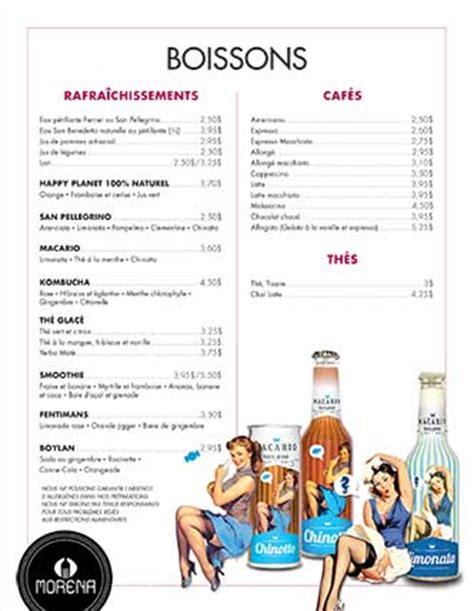 Carte De Des Vins Pdf by Morena Pr 234 T 224 Manger 201 Picerie Traiteur Qu 233 Bec