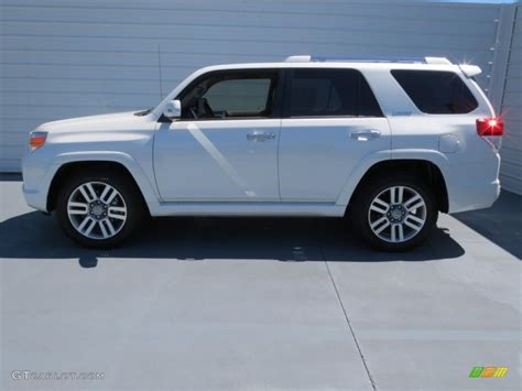 2013 blizzard white pearl toyota 4runner limited 71010060 5 gtcarlot car color