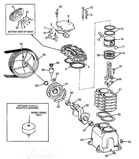 Powermate Air Compressor Wiring Diagram by Coleman Powermate Compressor Parts List Wiring Diagram