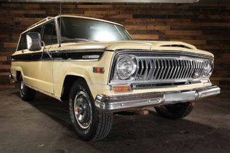 jeep kaiser wagoneer 1970 jeep wagoneer sj 4wd j 100 kaiser 81k 350 v8 at 66
