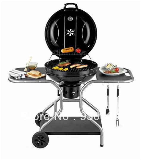 grill side table outdoor outdoor garden trolley charcoal bbq grill wih table side