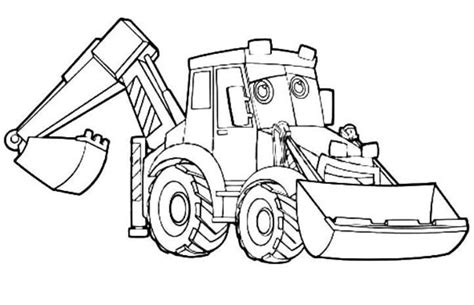 Coloring Jcb by Excavator Coloring Page Drawingboardweekly Coloring