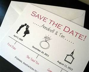 retro wedding timeline save the date wedding card With timeline for wedding invitations and save the dates