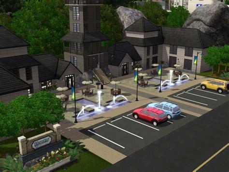 Custom Universities Community Lots For Sims 3 At My Sim
