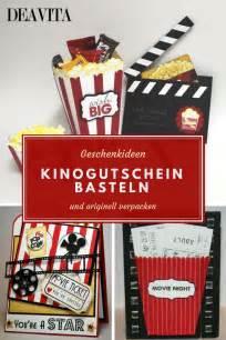 einfaches selbstgemachtes geschenk die besten 25 kinogutschein ideen auf kinogutschein verpacken gutscheine und