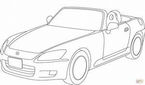 dibujo de honda accord descapotable para colorear With 2009 honda cr v
