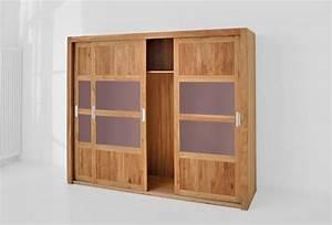 Großer Kleiderschrank Schlafzimmer : gro er kleiderschrank note aus massivholz mit schiebet ren ~ Markanthonyermac.com Haus und Dekorationen