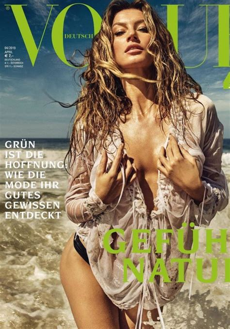 gisele buendchen vogue germany april