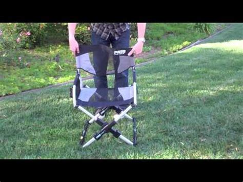 pico chair the compact folding director s chair by gci