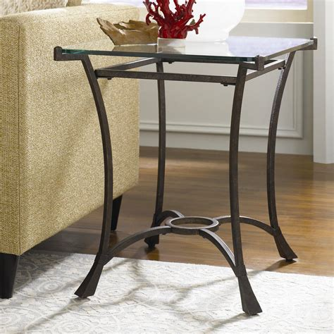 wolf table with glass table top contemporary metal rectangular end table with glass top by