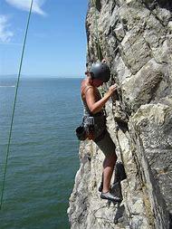 Rock Climbing Pee