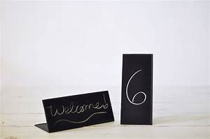 Chalkboard, Table, Signs, A, Rustic, Event, Accessory
