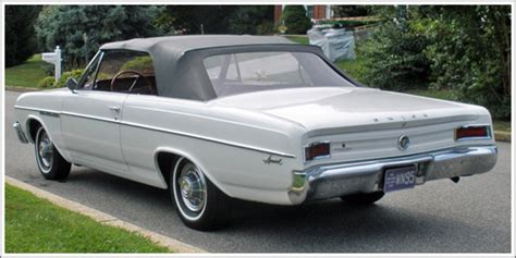 Buick Special Convertible Tops Top