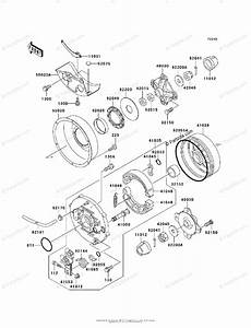 Kawasaki Atv 1999 Oem Parts Diagram For Rear Hub