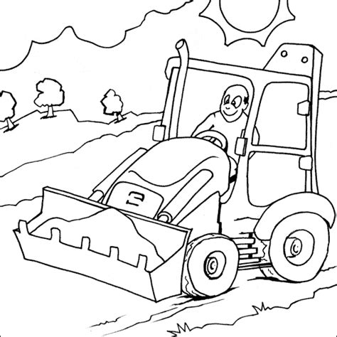 Coloring Jcb by Jcb Colouring