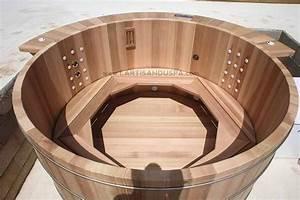 Baignoire Et Bulles : jacuzzi en bois 24 jets et banc bulles spas ~ Premium-room.com Idées de Décoration