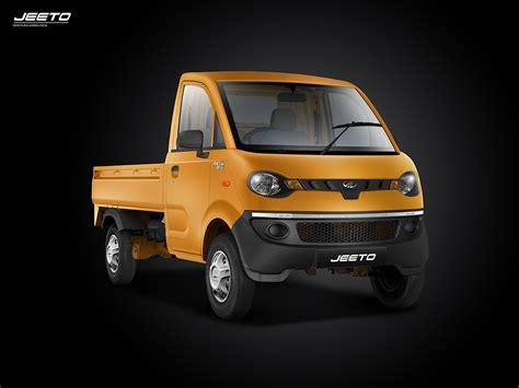 mahindra jeeto   city mini trucks  india