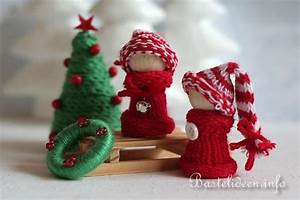 Basteln Mit Wolle Weihnachten : weihnachtsbasteln winterliche dekoration ~ A.2002-acura-tl-radio.info Haus und Dekorationen