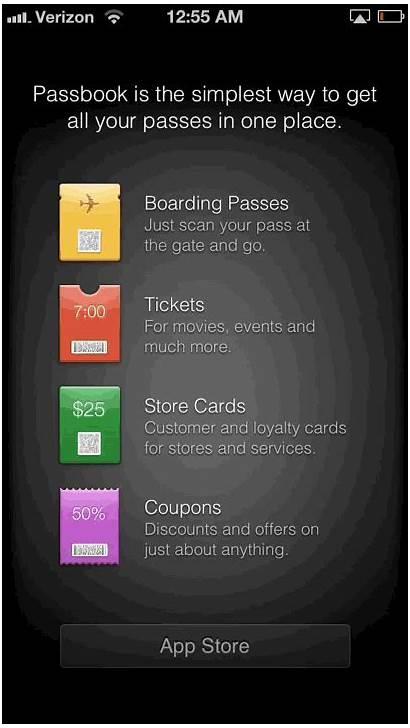 Iphone Passbook Mac Pass Apple Thenextweb App
