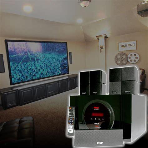 pyle ptbt bluetooth  channel home theater system surround sound speakers av