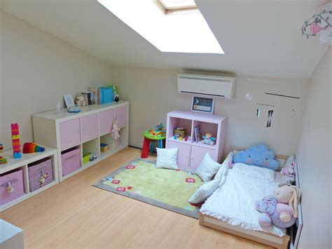 Montessori Inspired Bedroom. Ikea Child Bed Hack