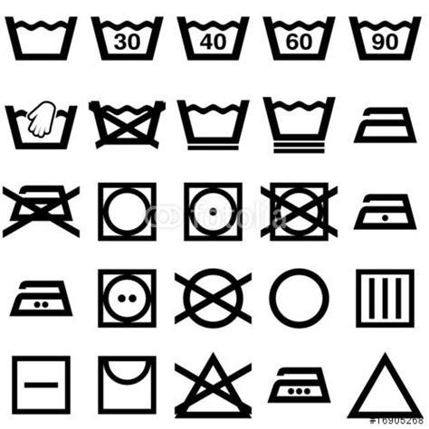 pictogramme de lavage du linge les 25 meilleures id 233 es concernant symbole lavage sur symboles de buanderie symbole