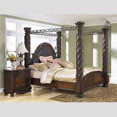 North Shore Bedroom B553cpy Dark Brown By Ashley Furniture