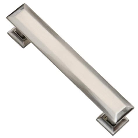 southern brushed nickel drawer pulls 4 inch