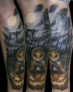 35 Nightmare Before Christmas Tattoo Design ...