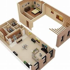 loft apartments cobbler and loft floor plans on pinterest With studio apartment floor plans 3d