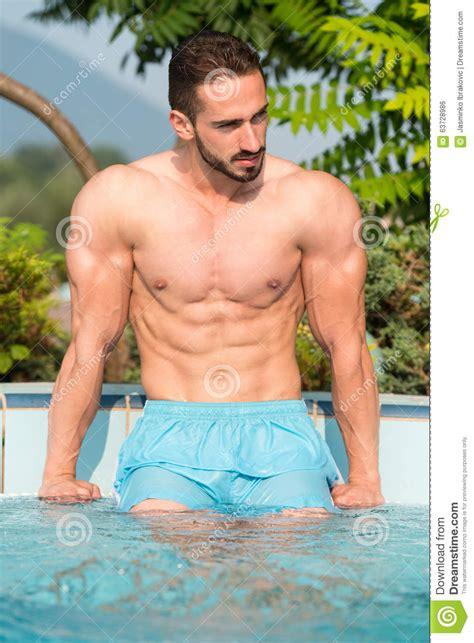 Macho Man Stock Photo Image Of Macho Good Male Hunk
