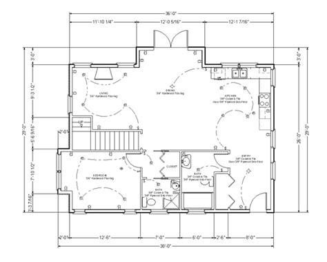 open floor plan house plans how to read blueprints