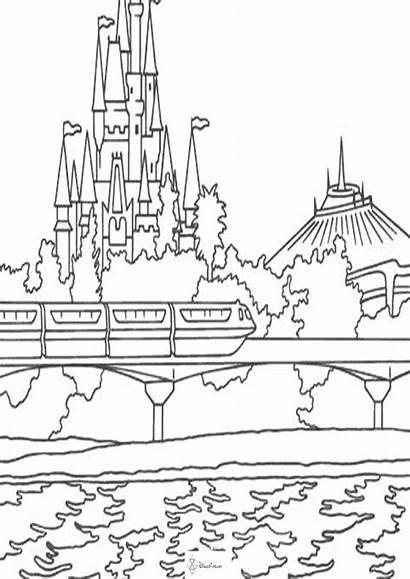 Coloring Disney Walt Colouring Its