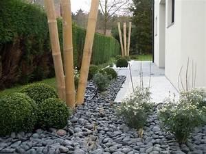 deco bambou galet zen jardin pinterest zen et photos With lovely deco de jardin avec caillou 4 idee deco jardin galet blanc