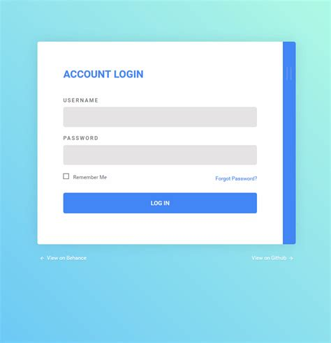 login and register form interaction coding dise 241 o de